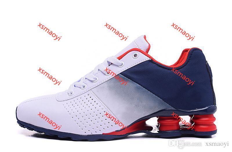 Nike SHOX DELIVER 809 hococal Deliver 809 uomini scarpe da corsa goccia liberi famoso CONSEGNARE OZ NZ Mens atletici delle scarpe da tennis Pattini correnti di sport Size 40-4