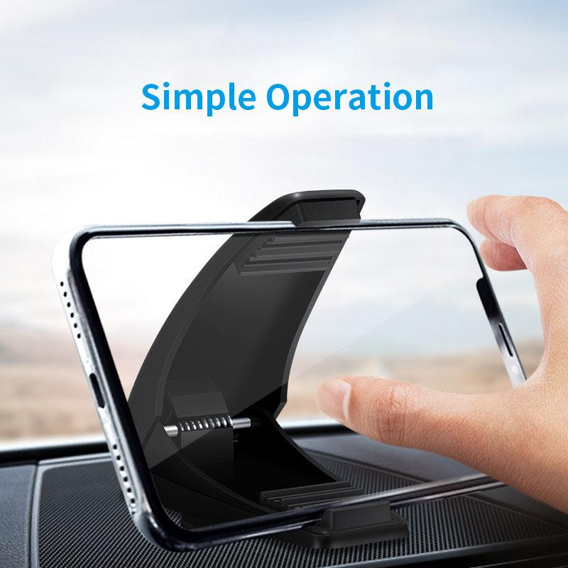 Car Phone Holder Dashboard Universal Stone Pattern Washable GPS Navigation Cell Phone Support Stand For iphone Car Holder