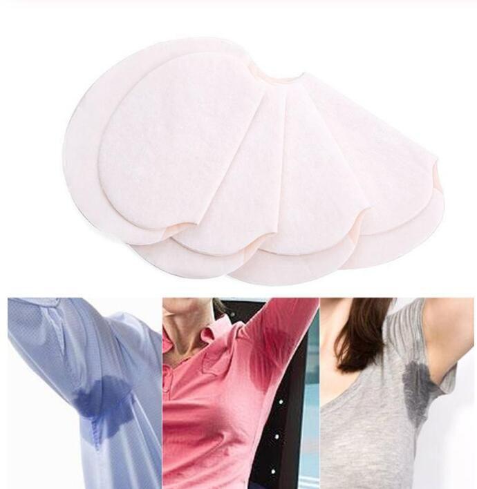 Колодки для подмышек с капюшоном Sweat Dress Пот Пот Колодки для подмышек Летние дезодоранты Абсорбирующие белые прокладки для мужчин и женщин