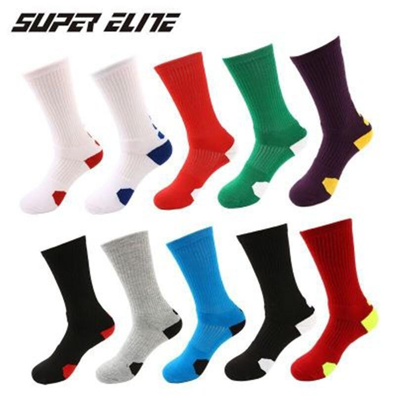 Etats-Unis Chaussettes d'élite Chaussettes de Basketball Elite pour hommes Sports Sports de luxe épaissis Chaussettes de sport de luxe Hommes courir de grande qualité EU40-46