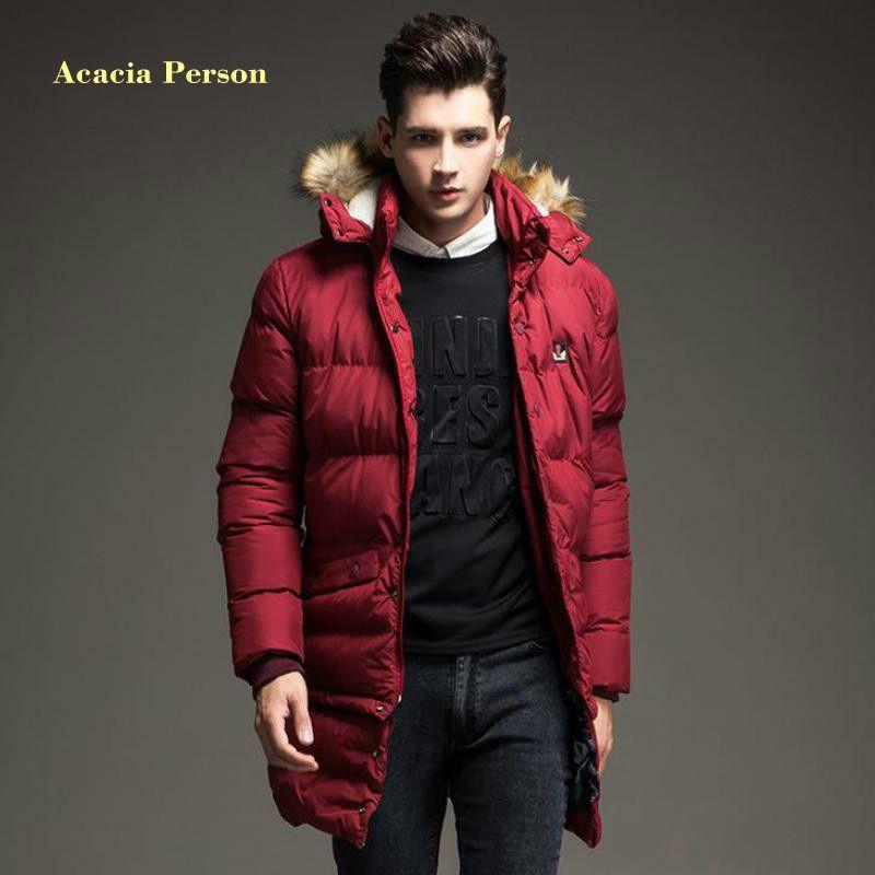 2018 New Winter Jacket Men Coat Mens Coats Manteau Homme Man Parka Abrigos Hombres Invierno Parkas Fashion