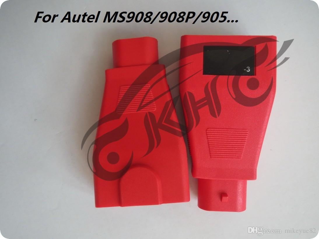 for Autel For FIAT -3 Pins MaxiSys Pro MS906 MS906BT MS906TS MS908S Pro Mini MaxiCOM MK908P OBD I Adapters DLC Connector
