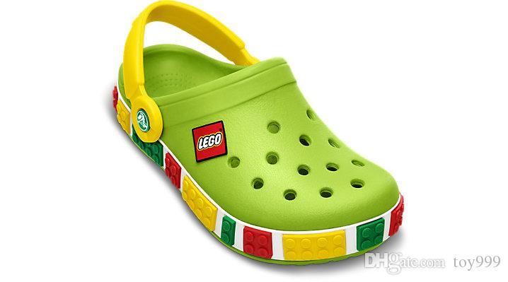 Летние новые резиновые мулы летние детские сандалии крокодиловые тапочки обувь пляжная уличная обувь флип-флоп дышащая дыра обувь 5 цветов