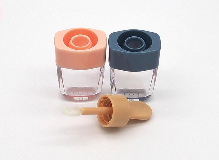 Оптовая продажа-DIY макияж инструмент пустой блеск для губ трубка косметическое мороженое прозрачный бальзам для губ многоразового использования бутылки контейнеры крем банки