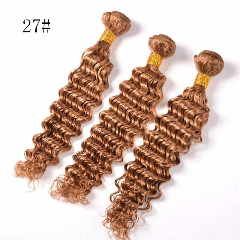 سعر مصنع عالي الجودة شعر برازيلي ... ... لون مجعد عميق 27 أسود ... ...