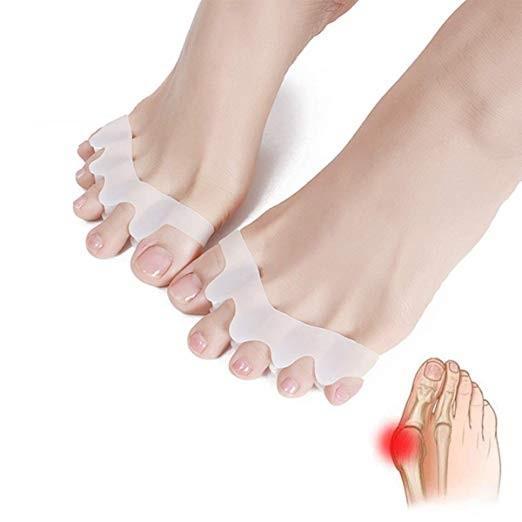 hot sale Gel Silicone Bunion Corrector Toe Separators Straightener Spreader Foot Care Tool Hallux Valgus Pro massager