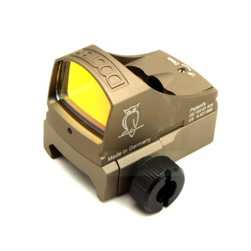 Tactical Docter Red Dot Reflex Sight Micro Compact Docter Red Dot Scope With Picatinny Rail Mount and CLOCK Mount