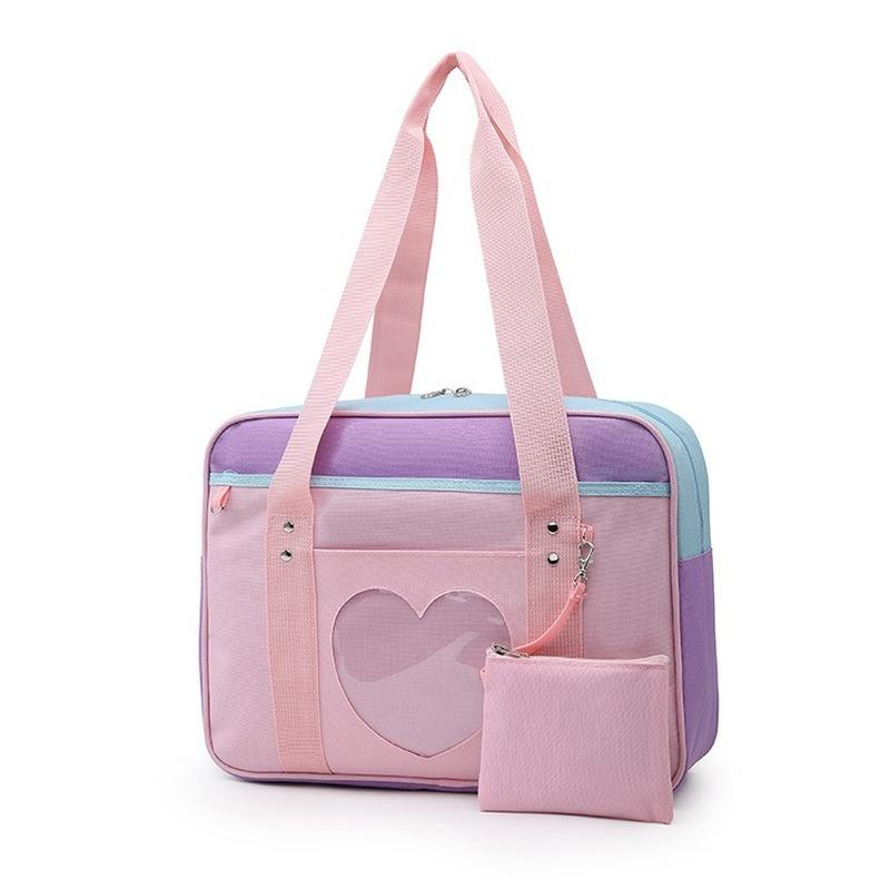 2020 Travel Bag Mulheres grande capacidade Móvel Duffle Bag Moda Casual Sólidos ombro Cor Bolsa Oxford para Mulher