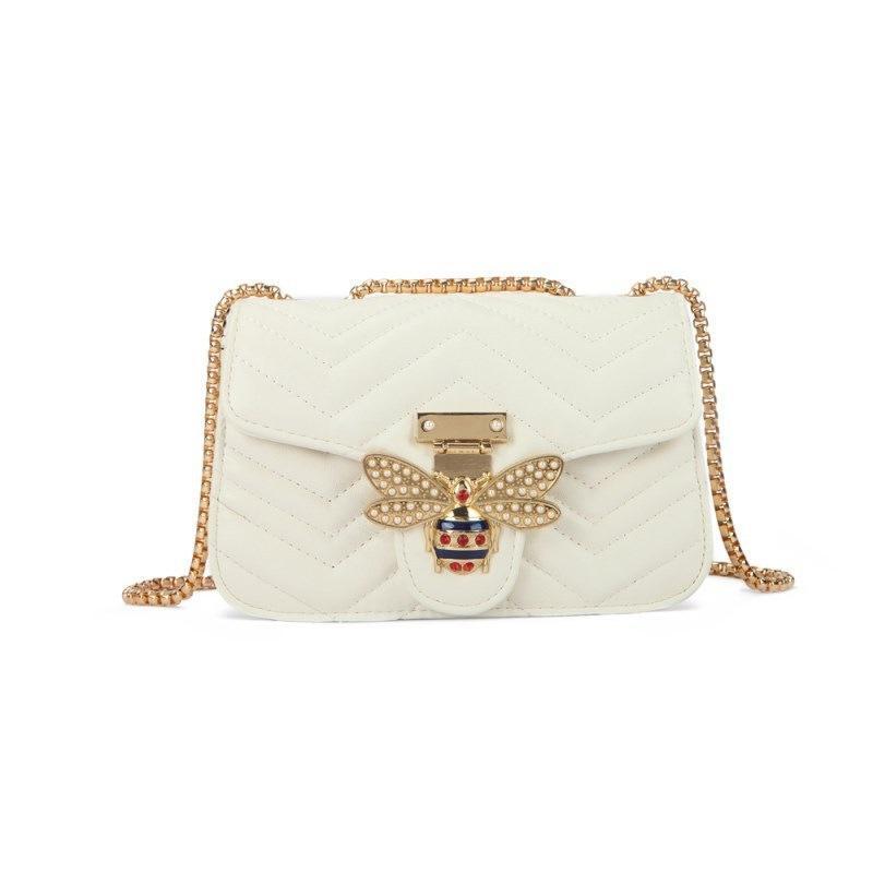 New Arrival Designer Hand Bag Female 2020 Luxury Shoulder Bag Wild Shoulder Oblique New Designer Shoulder Bag Ins Super Fire Chain