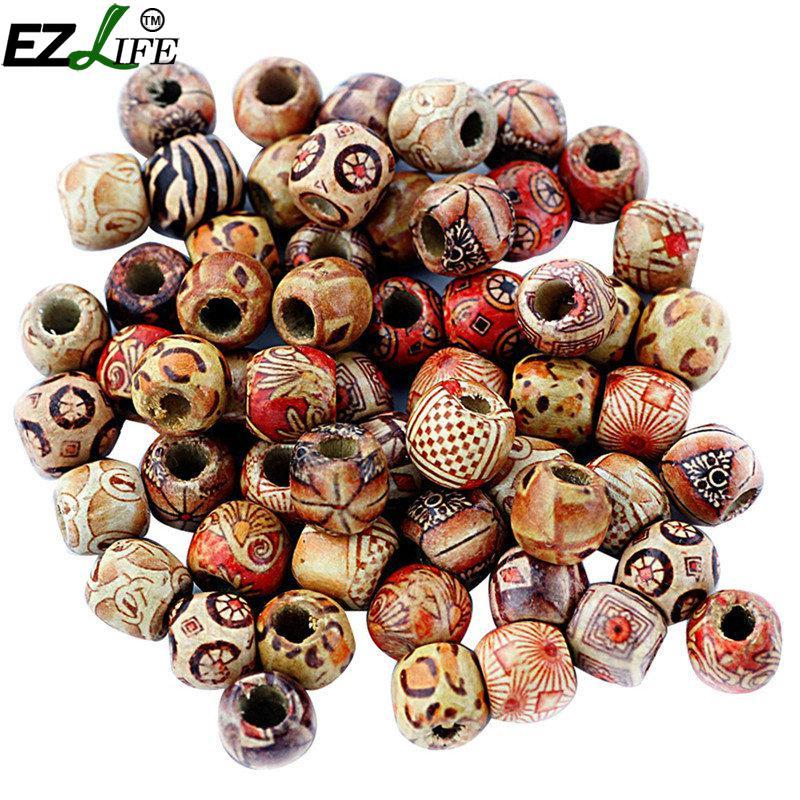 2019 Arts And Crafts Wood Painting Beads Diy Arts And Crafts Supplies Material Diy Necklace Wrist Wooden Painted Bead From Toy1234 30 68