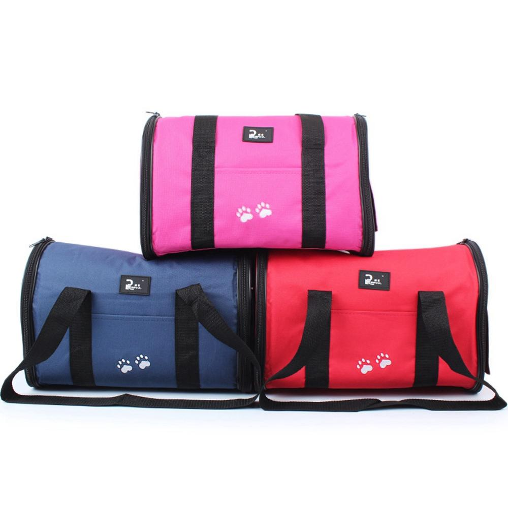 Borse Cat all'aperto Pet Travel Corduroy colorato Cat Carrier Bag colorata borsa facile trasporta Pet Bag Pet Carrier S / m Dimensioni