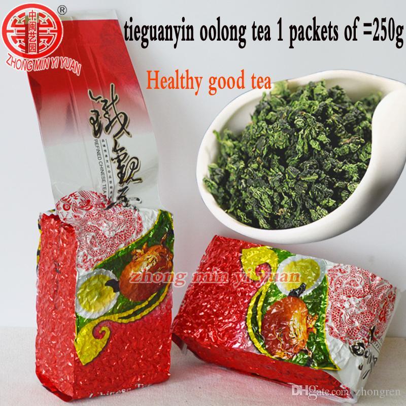 2019 nouveau thé 250g de qualité supérieure Oolong chinois, thé TieGuanYin nouveau cadeau de produits de soins de santé naturels et organiques Tie Guan Yin tea