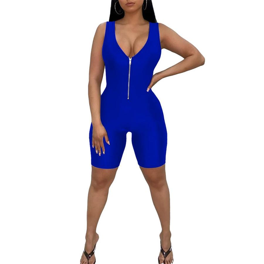 Sexy Lace Up Backless Casual Loose Rompers Womens Jumpsuit Summer Trousers Overalls Cotton Jumpsuits For Women 2020 #79522