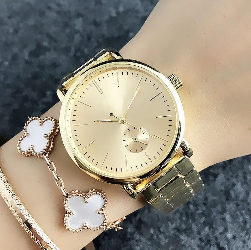 2020 Yeni moda kaliteli izle lüks bayanlar altın rahat izlemek spor kuvars hareketi kız münhasır izle dial yükseldi. hediye