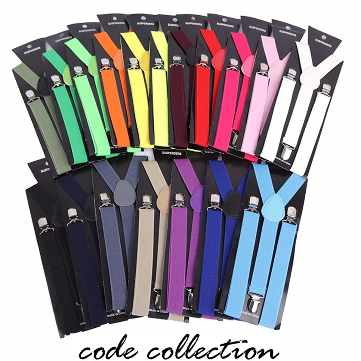 Mens Strapse Einstellbare X-Back Frauen Clip Strapse - Elastisch, Big Hoch 42 Unifarben Großhandel Elastic Leder Straps