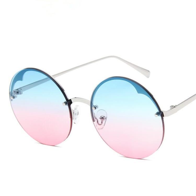 Очки для очков ретро Женщины RIMELS Очки в форме сердца круглые солнцезащитные очки против ультрафиолетового рама сплава солнца мода очки солнцезащитные очки A ++ Густ