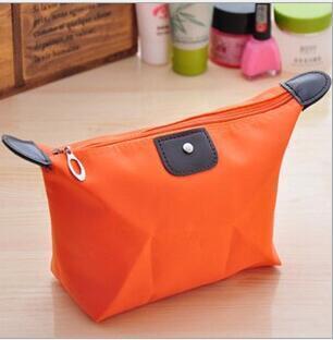 10 colori di viaggio trucco borse da donna Lady Cosmetic Pouch Bag Clutch Handbag Gioielli Hanging borsa casuale