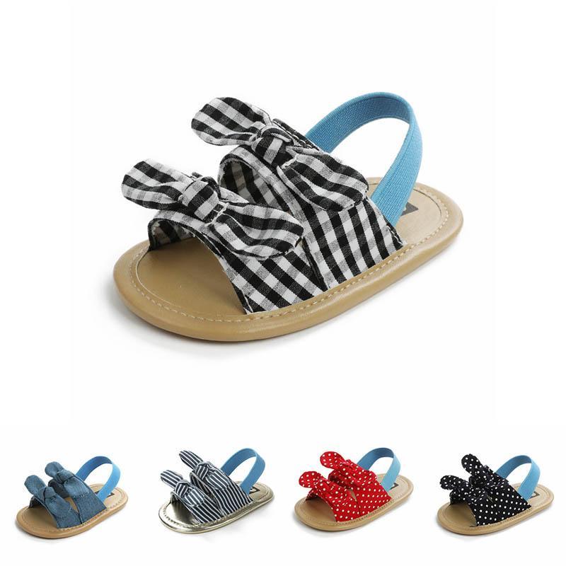 dots estate archi sandali del bambino dei pattini infantili bambino pattini della neonata mocassini morbidi sandali del bambino sandali delle ragazze prima scarpa B1039