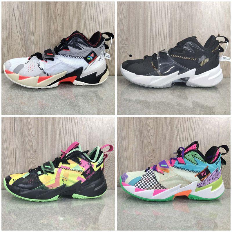 Russell Westbrook Hommes Pf Iii Pourquoi ne pas zéro.3 enfants Chaussures de basket Ii Zero 2 entraîneurs des espadrilles originales