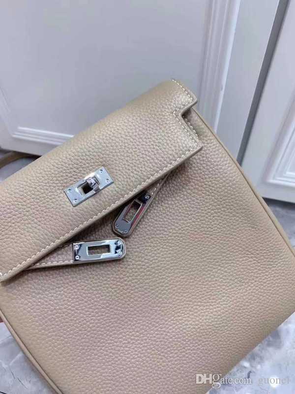 Designer-marca mochila macia Granule couro de luxo mini-saco de viagem mochilas bagagem design de moda saco de ombro das mulheres bolsa livre