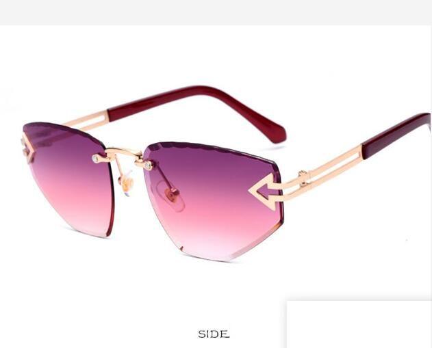 Occhiali da sole firmati di lusso-estivi Occhiali da sole da donna di marca di moda Occhiali da sole di lusso Occhiali per occhiali da vista 6 colori Opzionali di alta qualità