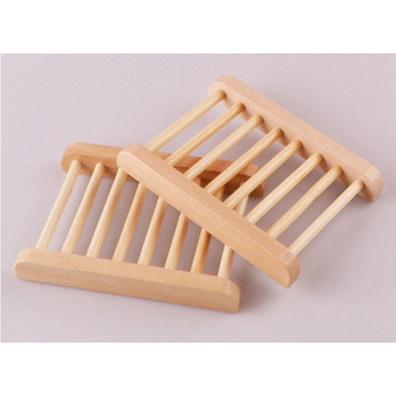 Деревянные мыло стойки контейнер для душа бамбук ручного держателя мыла аксессуаров для ванной комнаты личность творческого мыла стойка бесплатная доставка
