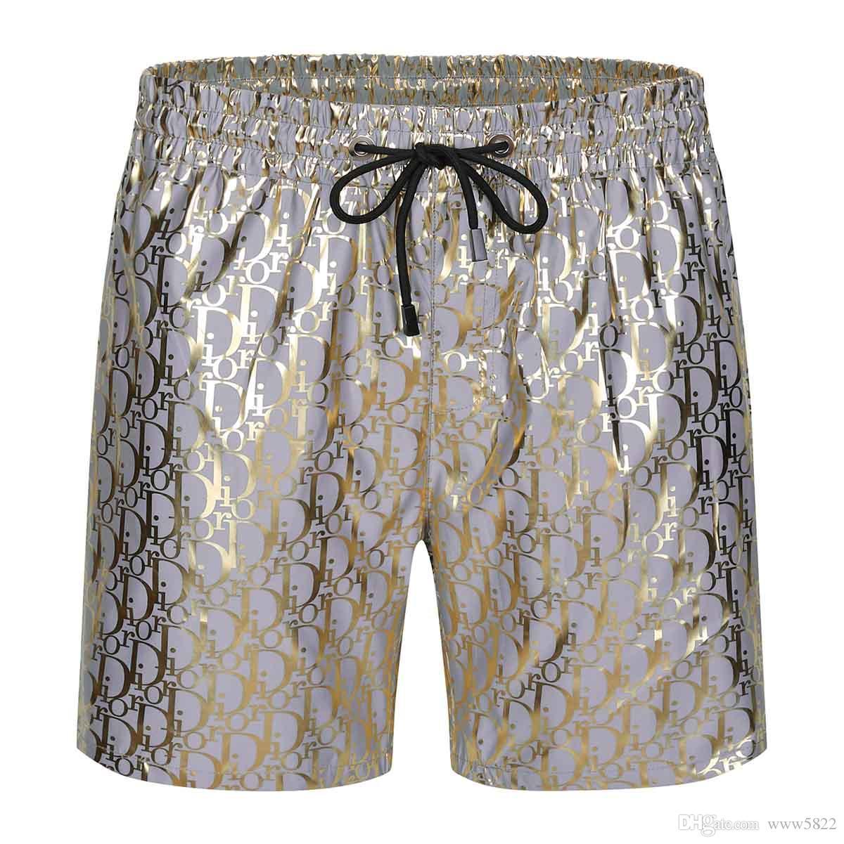 estate 2020 nuovi pantaloncini da uomo moda casual solido tavolo colore degli uomini dei bicchierini della spiaggia stile estivo di nuoto degli uomini pantaloncini sportivi