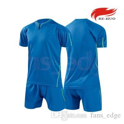 Лучшие пользовательские футбольные майки Бесплатная доставка дешевые оптовые скидки любое имя любое число настроить футбол рубашка размер S-XXL 754