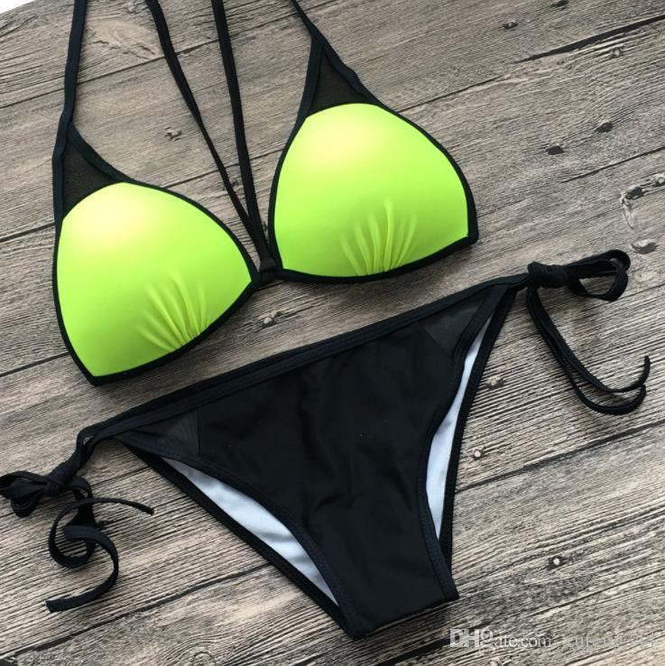 2019 fashion swimwear sexy print bikini women push up thong Swimsuit micro bikini Set female padded bathing Suit mini biquini
