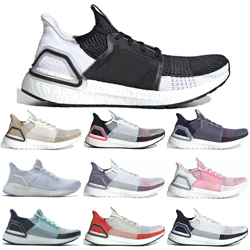 Adidas Ultra Boost 2019 Ultraboost 19 UB 5.0 Para Hombre Zapatillas Mujer  Ultra 19 Azul Marino CLEAR BROWN Dark Pixel Triple White Sports Nuevo ...