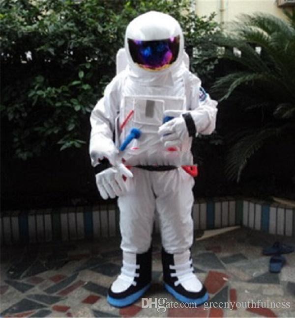 Big branco astronauta abelha bonecas dos desenhos animados trajes da mascote adereços trajes de Halloween frete grátis