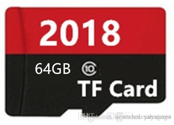 UK Wholesale WHOLESALES 10PCS Big discout E295 2018 Memory card 32GB~128GB 10 Micro SD card TF card Class10 flash