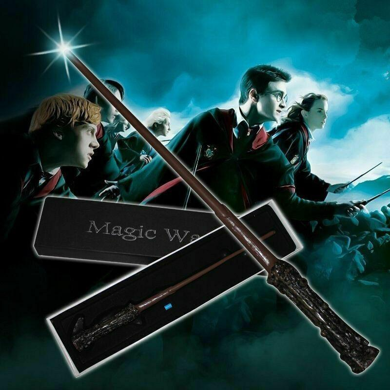 LED Zauberstab 17 Styles Light Up Harry Potter Hermine Woldermort Cosplay Zauberstab Halloween-Weihnachtsgeschenke-Partei-Bevorzugung CCA11882 12st