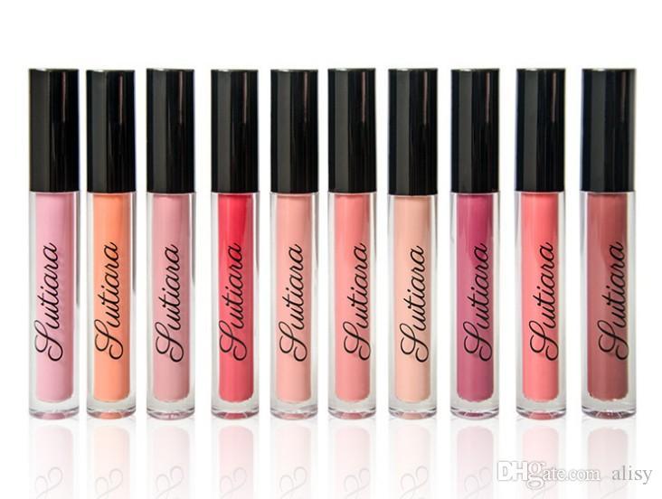 Suitiara cosmetici ultra opaco Rossetto Lip Gloss 10 colori Brand New da alisy