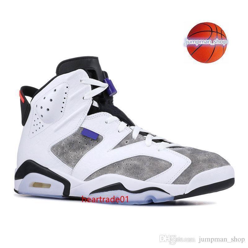 Chaussures Designer originales Basketball 6 6s Autre Black Cat Carmine infrarouge Tinker hatfield Gatorade Sneaker Mens taille 7-13