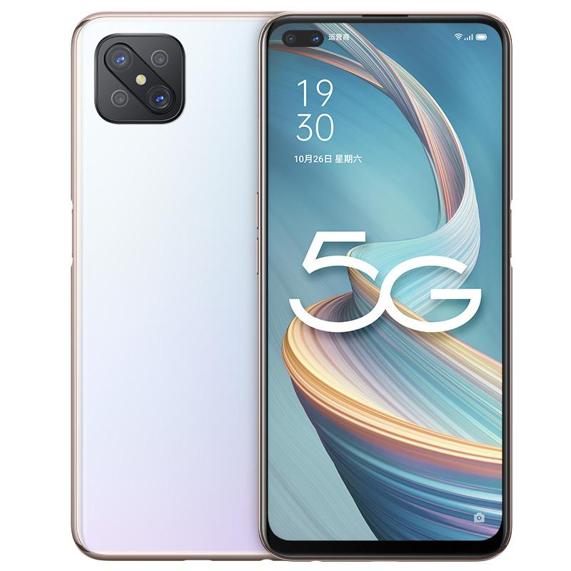 "Original OPPO A92S 5G Mobile Phone 8GB RAM 128GB ROM MTK Dimensity 800 Octa Core Android 6.57"" Full Screen 48.0MP OTG 4000mAh Face ID Fingerprint Smart Cell Phone"