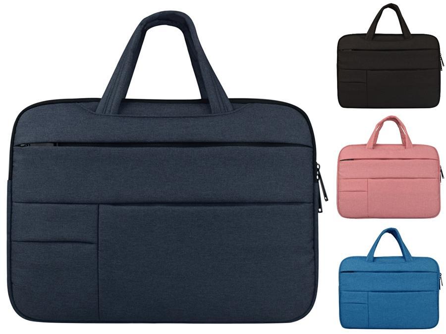 Çanta # 396 Günlük İş Erkekler Çantası 13 14 15.6 inç Laptop Çanta Su geçirmez Notebook Çantası İçin Macbook Air Pro Kadınlar
