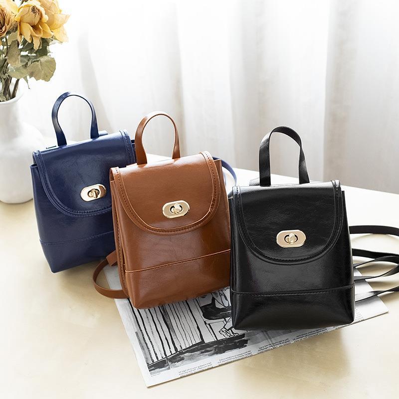 Çok fonksiyonlu sırt çantası Messenger çanta rahat kozmetik çantası 2019 yeni Japon ve Kore kişilik çanta mini