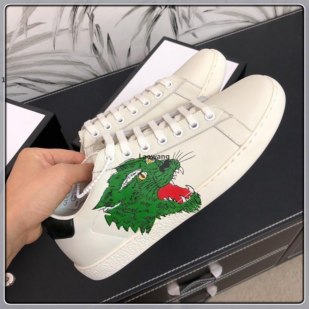 luxeconcepteur L28 2020 nouveau luxe confortable dentelle de la mode casual chaussures femmes jusqu'à chaussures pour femmes de taille de boîte à chaussures d'origine 35