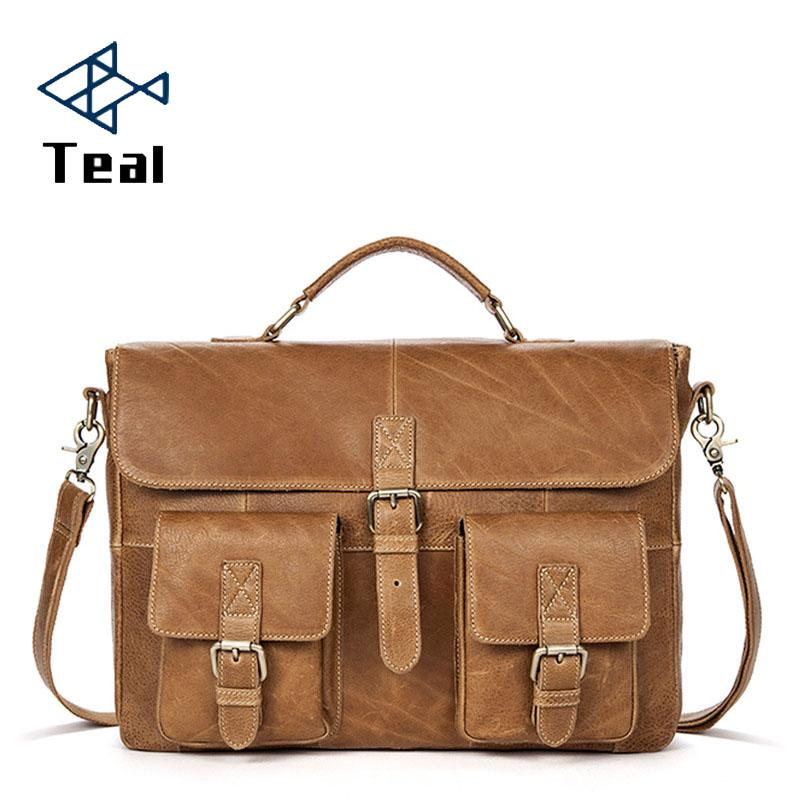 2019 Men Briefcase Shoulder Bag Messenger Bags Casual Business Laptop Briefcase Male Simple Crossbody Bags