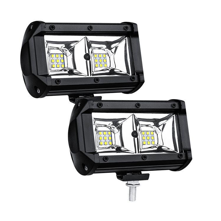 54W LED Work Light Flood Lamp Driving Light, Jeep, Off-road, 4wd, 4x4, Sand Rail, Atv, Motorbike, Dirt Bike, Bus, Trailer, Truck