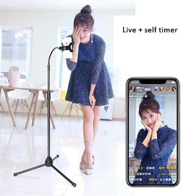 Wholesale Universal Rotary Lazy Handset Flat Bracket Live Self-timer Chasing Drama to Liberate Both Hands Home Necessary