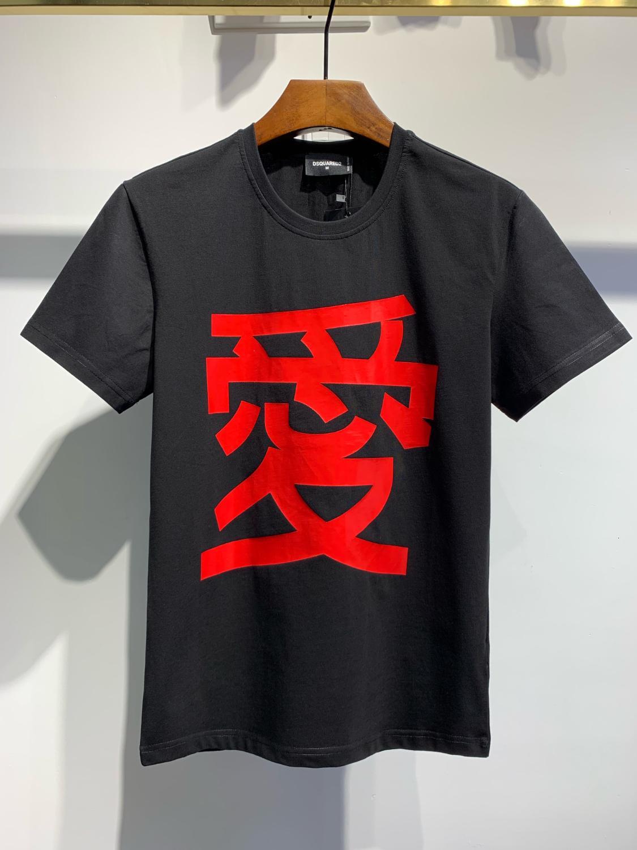 Fit neueste Ankunfts-Mode-Design Männer und Frauen-T-Shirt aus reiner Baumwolle und kurzen Ärmeln T-Shirt Hip-Hop-streetwears