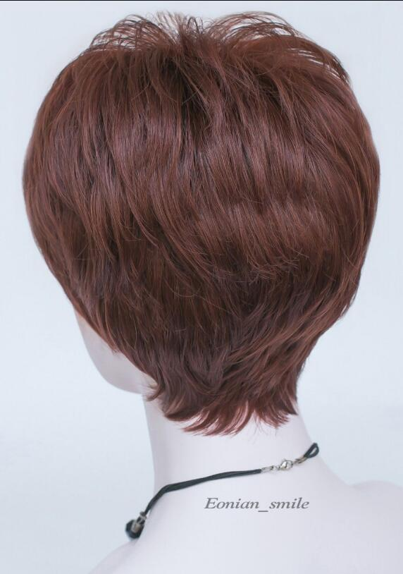 WIG 001268 Short Straight Women Ladies Daily wig Great quality