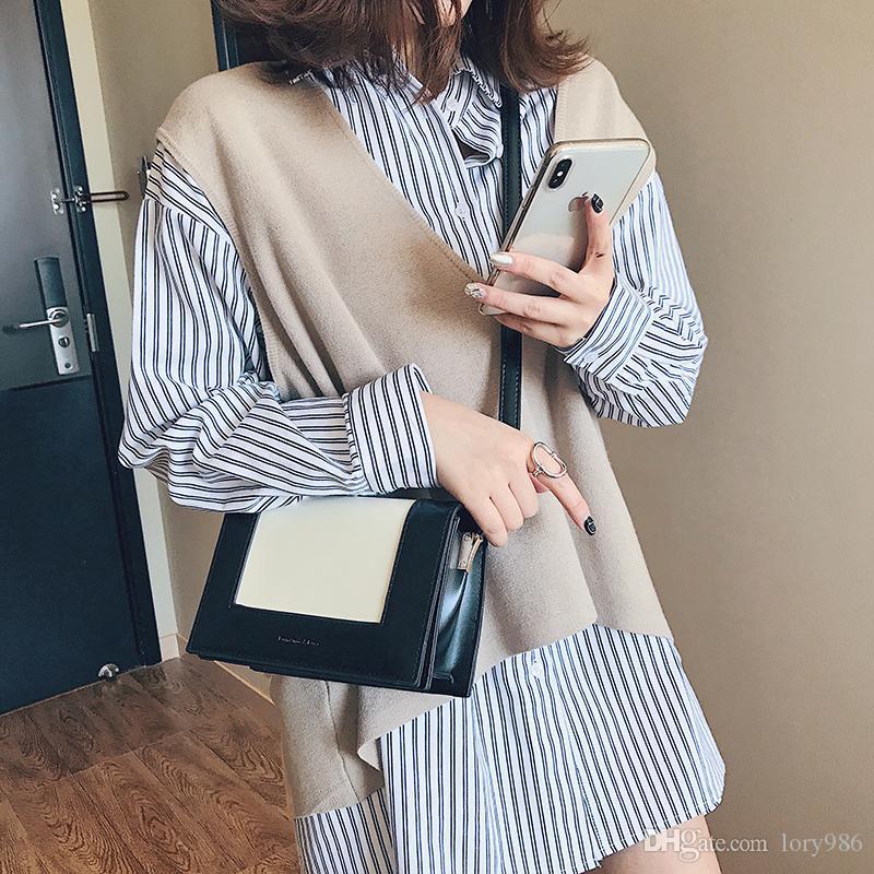 2019 Fashion Mini Flap Bags Ladies Clutch Small Shoulder Bags Cross body Monedero Bolsos de mujer Bolsas Casual qianjiazi / 3