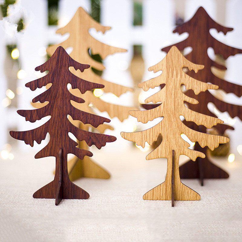 Ornamenti di pendenti Ornamenti di albero di Natale di Natale Regalo del capretto Ornamenti dell'albero di Natale per la decorazione della festa di Natale ZC0879