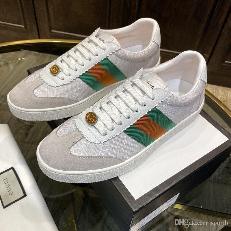 E1 beiläufige Art und Weise Herrenschuhe, High Quality Komfortable Designer Luxus-Mann-Schuhe, stilvolle Turnschuhe, Originalverpackung Zapatos Hombre