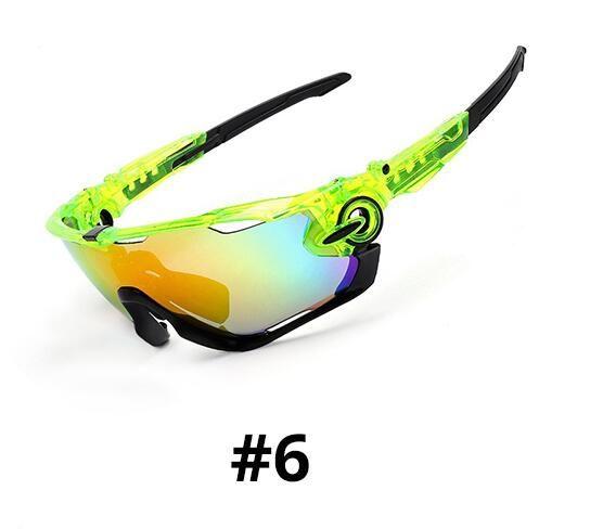 Wholesale-3Lens Occhiali da sole Uomini bici polarizzato occhiali ciclismo vetro Occhiali lunette soleil Homme Sport Occhiali da sole a cavallo con miopia cornice