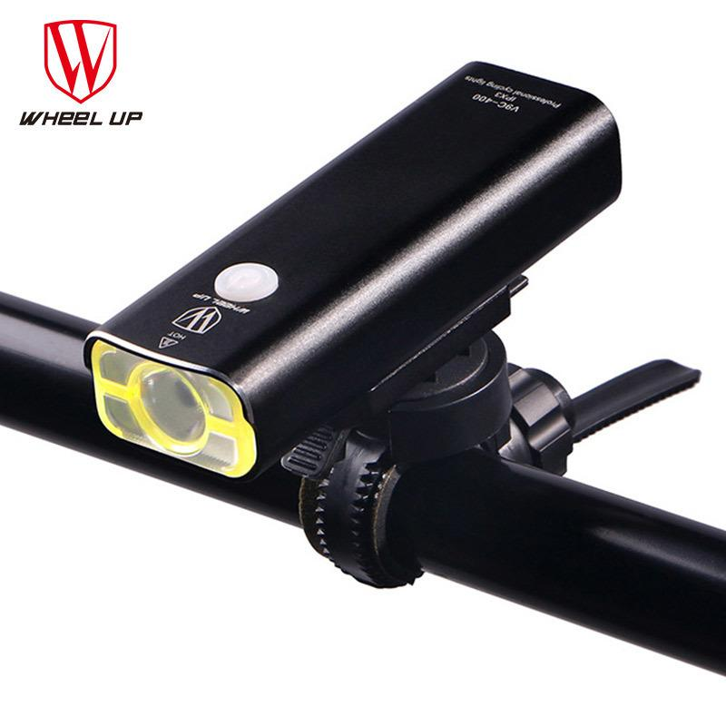 Usb Rechargeable Bike Light Front Handlebar Cycling Led Light Battery Flashlight Torch Headlight Bicycle Accessories