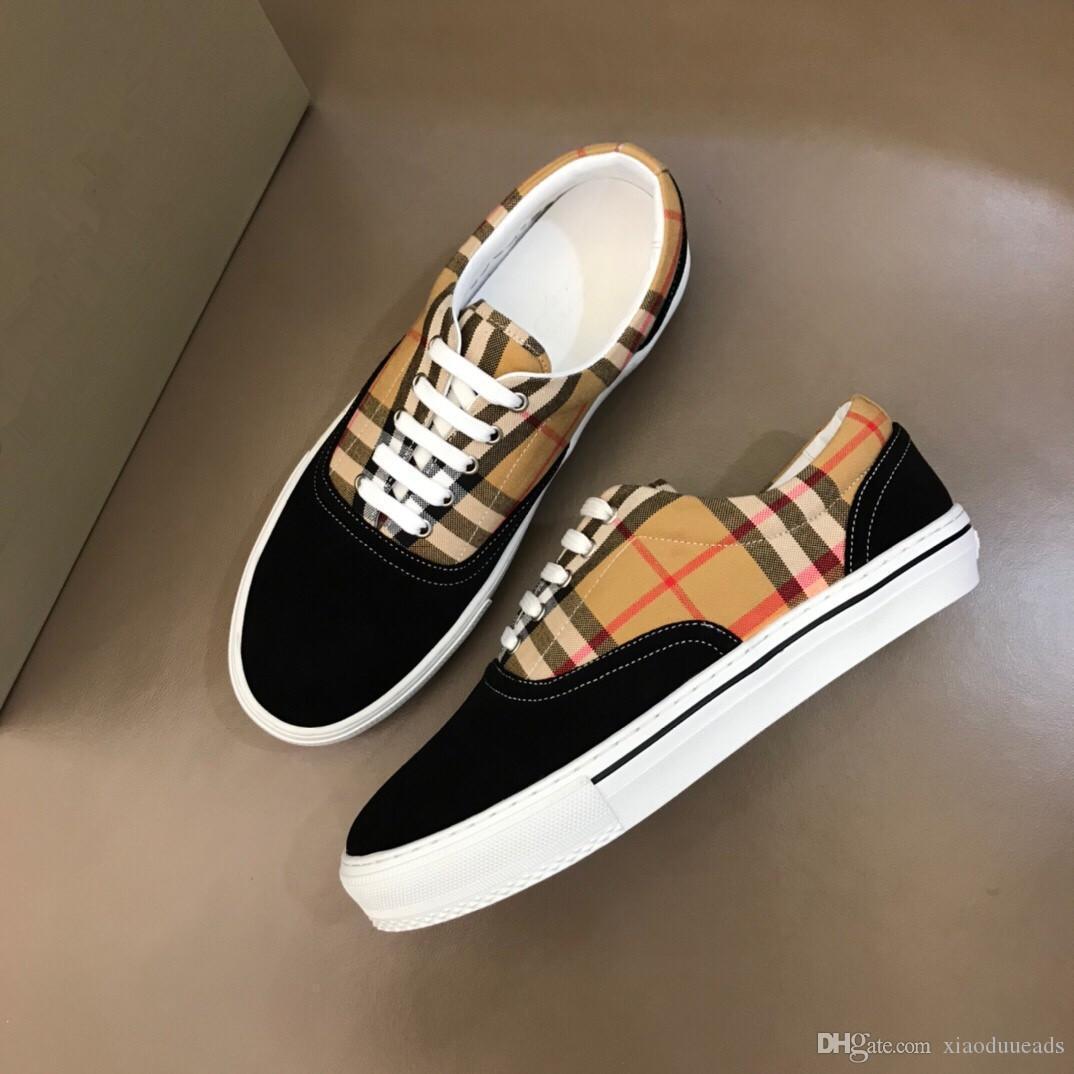 2020 Top qualité FD chaussures baskets de marque de luxe en cuir véritable cadeau mens Racer Hot vente sport chaussures de sport de marque casual RD201